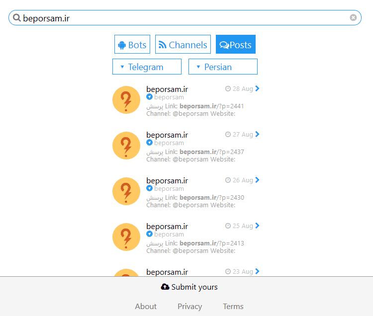 telegram-search